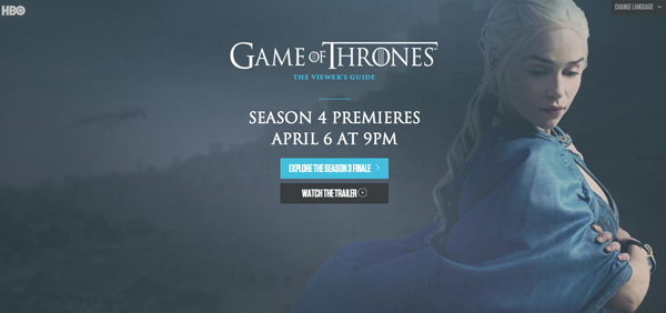 Hbo launches interactive game of thrones guide ahead of season 4 hbo launches interactive game of thrones guide ahead of season 4 shinyshiny gumiabroncs Gallery