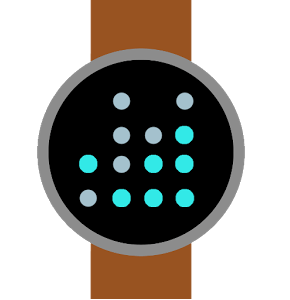 Binary theme for Android Wear