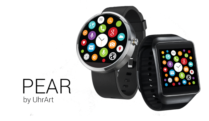 PEAR theme for Android Wear