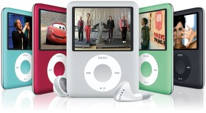 The iPod nano 3rd generation family [image via Flickrcc]