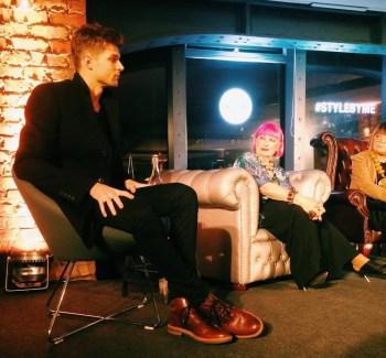 Jim Chapman, Zandra Rhodes and Hilary Alexander debate