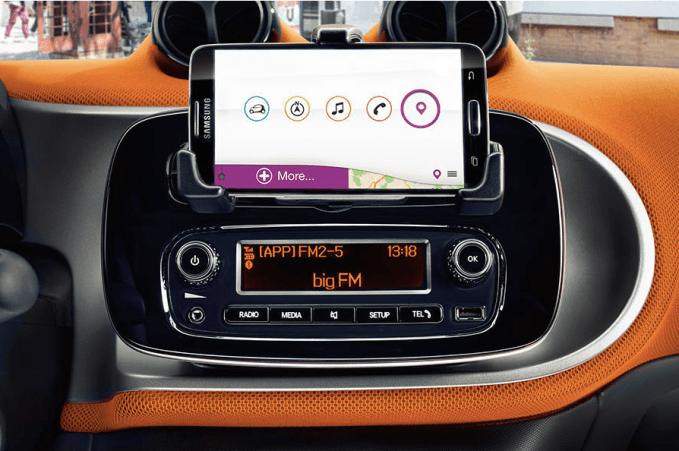 Display unit smart car