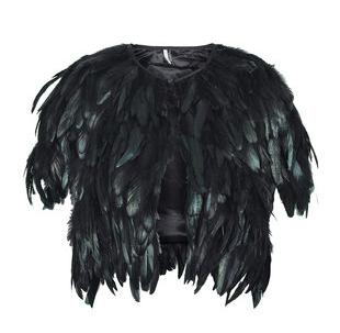 Topshop-feather-cape