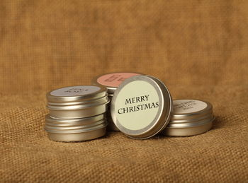 Sweet Cecilys personalised lip balm