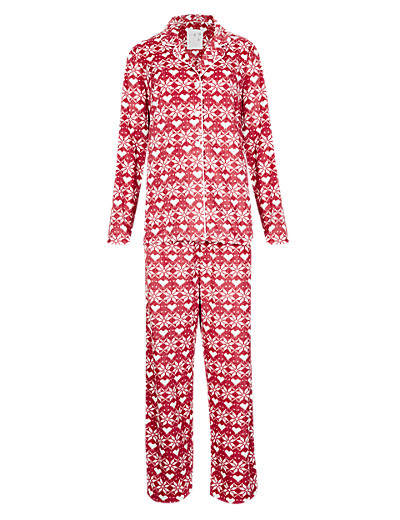 M&S Fair Isle pyjamas
