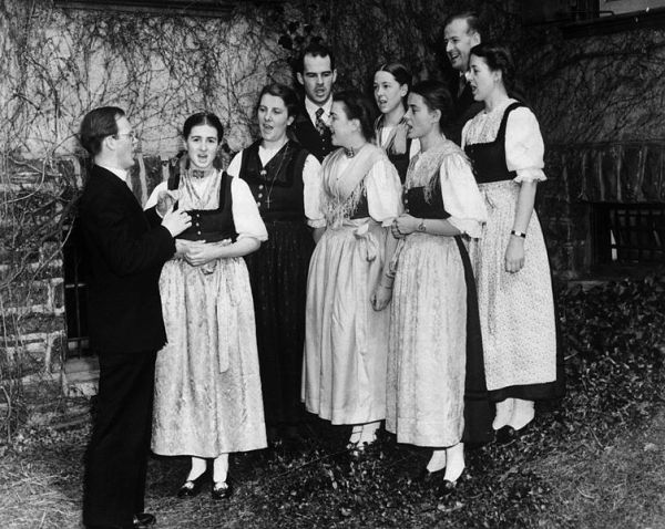 The real Von Trapp Family Singers