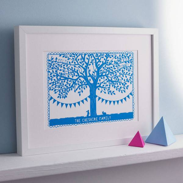 Papercut family tree