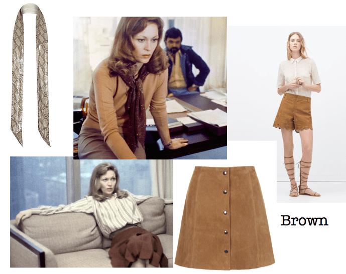 Brown fashion and Network stills
