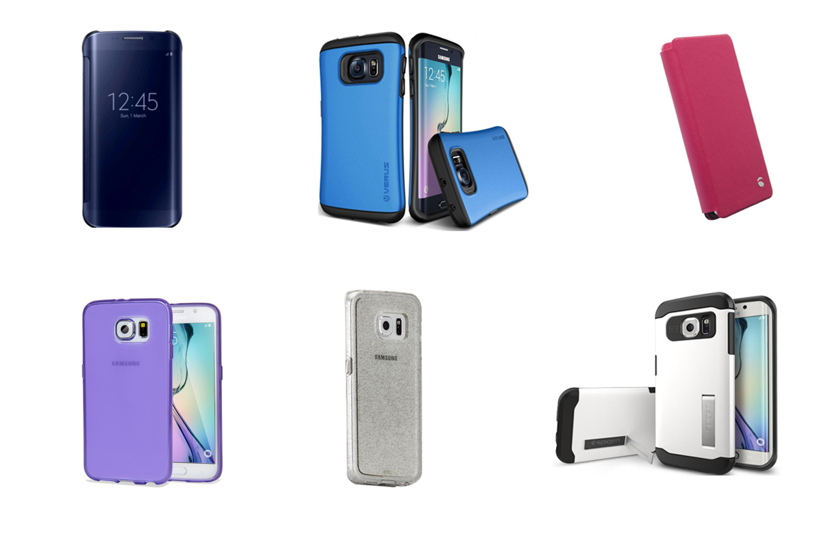 10 of the best Galaxy Samsung S6 Edge cases.