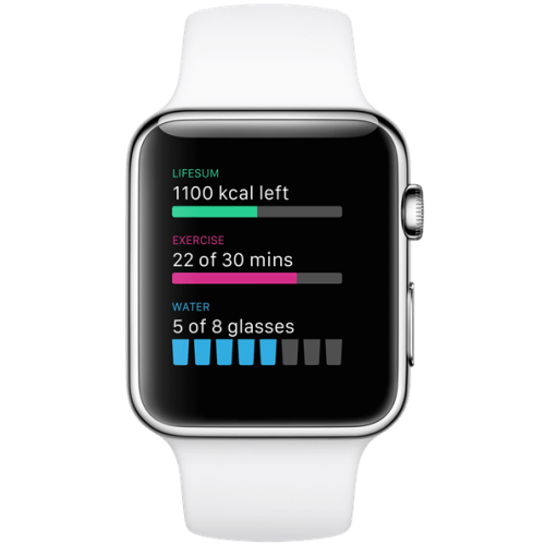 Apple Watch apps: Lifesum.