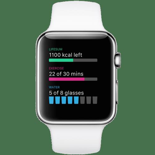 Apple Watch apps: Lifesum.