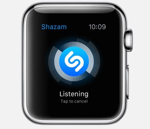 Apple Watch apps: Shazam.