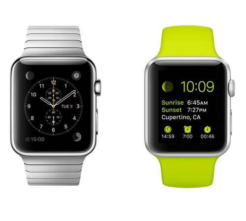 Remember this is just version 1 of the Apple Watch.