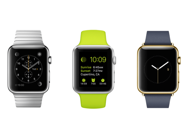 Apple Watch orders opened today.
