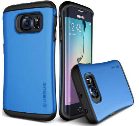 Verus blue Samsung Galaxy S6 Edge case.