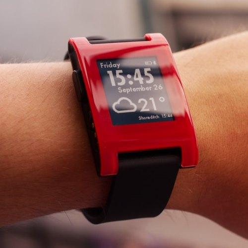 Cheap smartwatches: Pebble.
