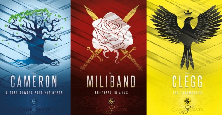 Moo designed Game of Thrones-inspired posters to commemorate the leaders' debate.