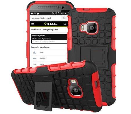 Olixar Armourdillo HTC One M9 case.