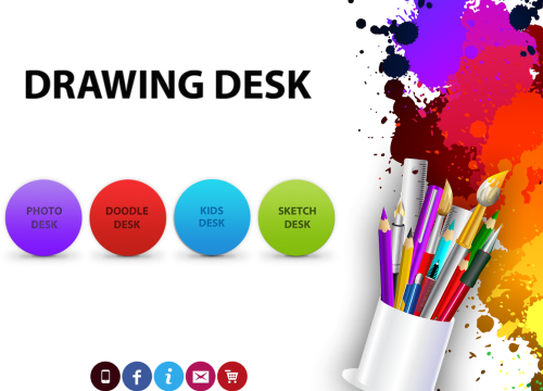 Interesting apps for when you're bored: Drawing Desk.