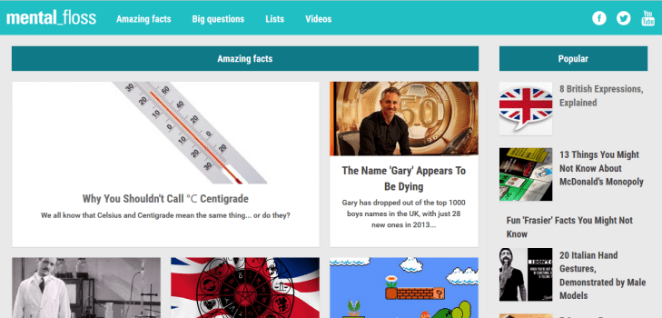 10 of the most interesting websites for when you're bored.