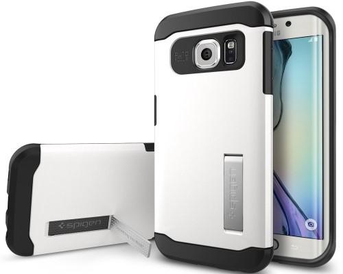 Spigen Slim Armor Samsung Galaxy S6 Edge case.