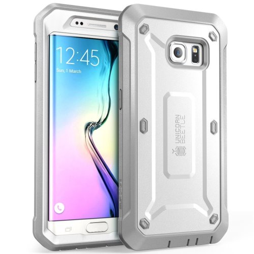 Supcase full-body rugged holster Galaxy Samsung S6 Edge case.