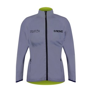 S2 Switch Womens Jacket Front Silver LR