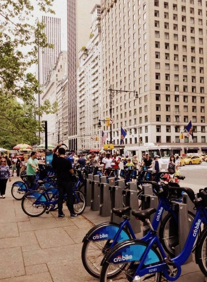 Citi Bike docks below Central Park are currently the furthest north in the city, and are some of the busiest.
