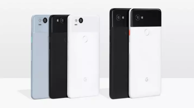 Pixel 2 XL screen blue tint likely caused by poorly applied polarizer