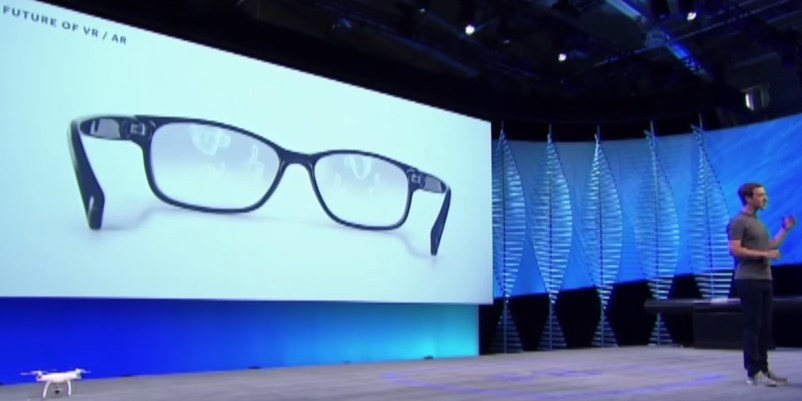 Facebook smart glasses