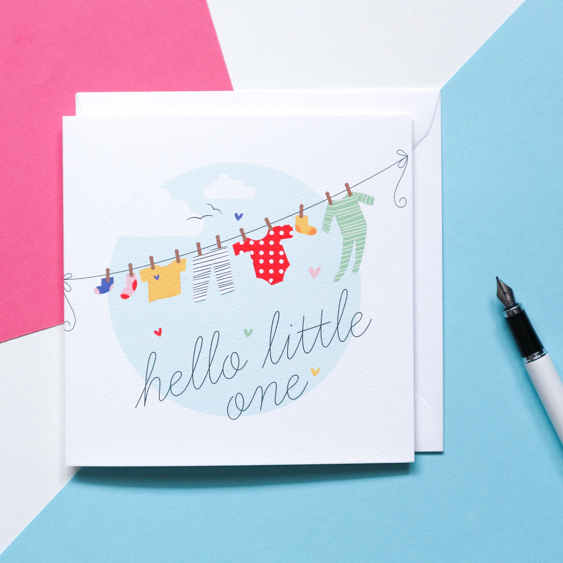 Sian Shrimpton New Baby Card