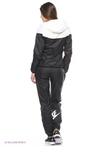 Black Women's Nike Tracksuit Rear View