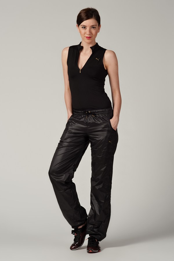 Women's Shiny Puma Trackpants