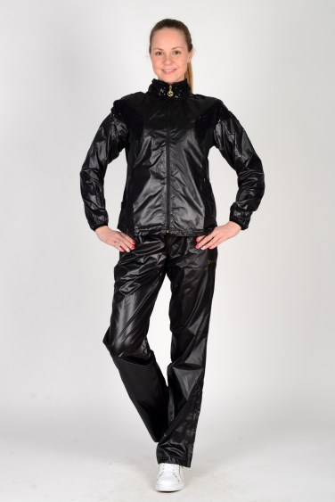 Stayer Black Tracksuit Front