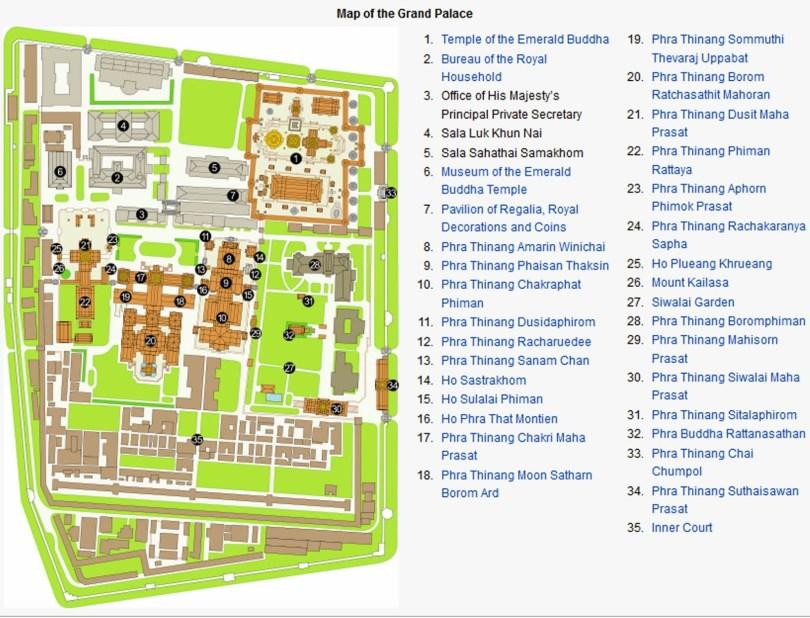 Grand Palace Map