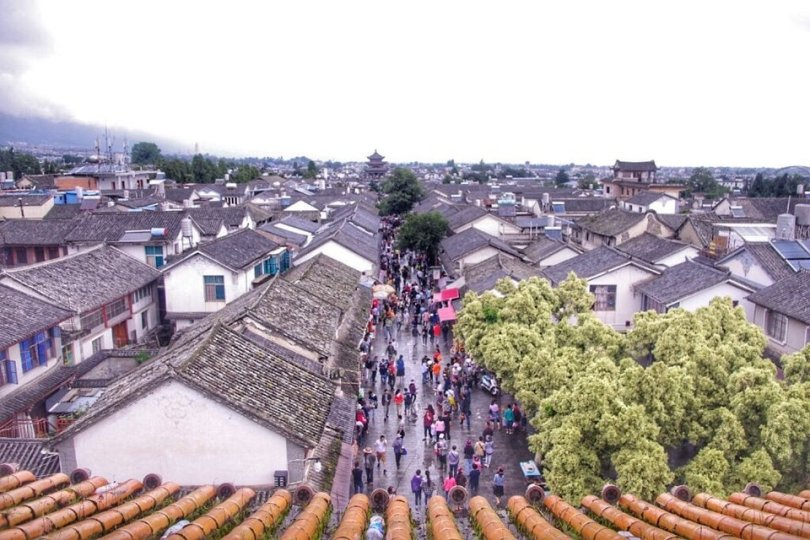 dali-old-town-birdview