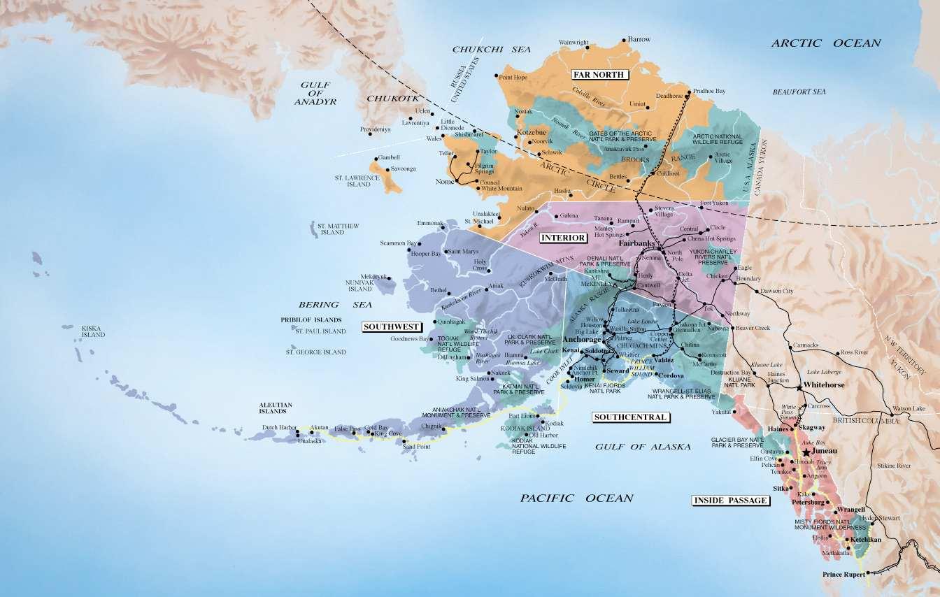 Alaskas Where Russia