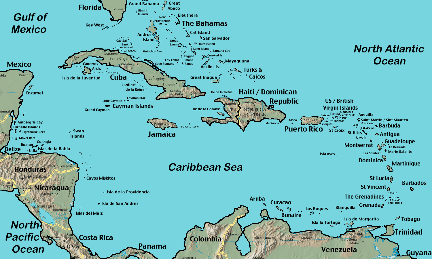 Image result for the caribbean