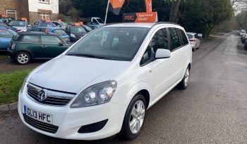 2013 Vauxhall Zafira 1.6 i VVT 16v Exclusiv 5dr full