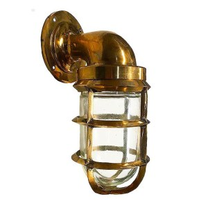 B-1B Bronze Bulkhead Light / Passageway Light by Shiplights