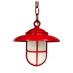 Red Nautical Pendant (C-1) by Shiplights