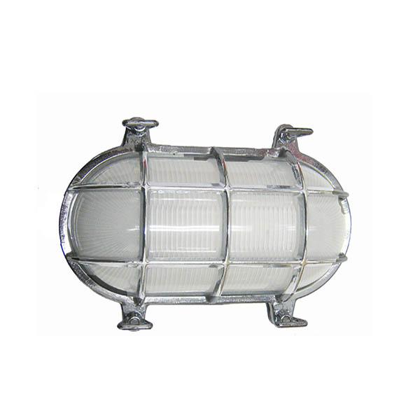 Chrome Oval Cage Bulkhead Light compare to DWR Davey cage light