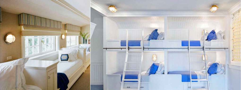 Nautical Bunk Lighting by Shiplights