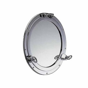 Chrome Porthole Mirror