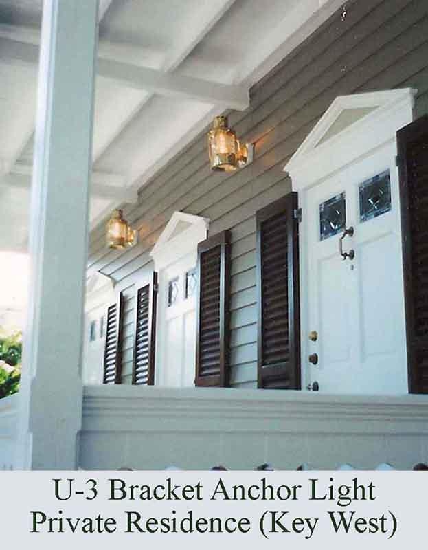 Bracket Anchor Light in Key West, FL by Shiplights