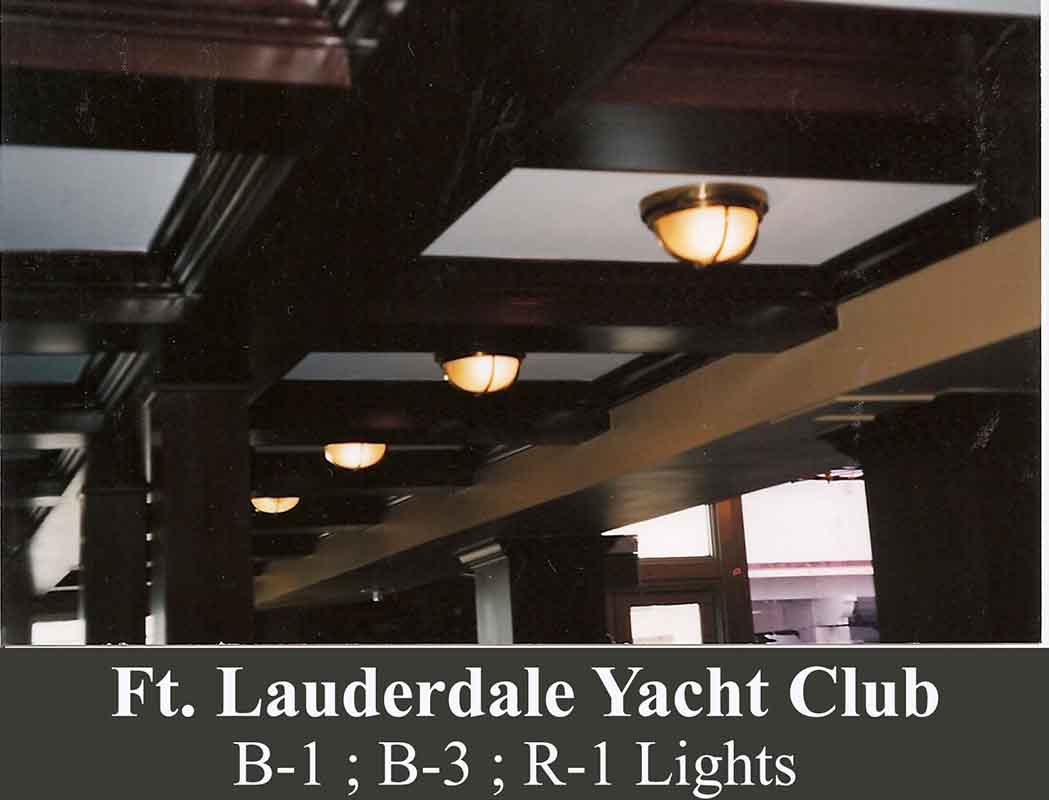 Nautical LED Ceiling Lights by Shiplights (Ft Lauderdale, FL)