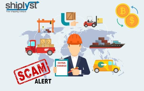 Freight forwarder scam