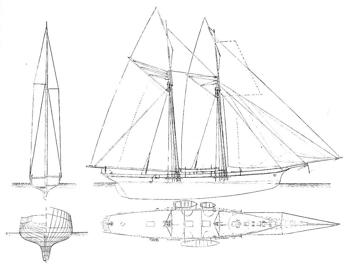 Free Plans Tall Ships