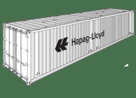 40' High Cube Hard Top