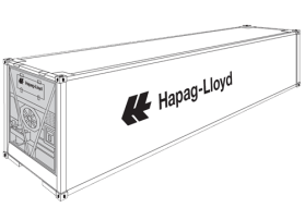 40' High Cube Reefer (RFHQ)